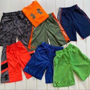 Under Armour Athletic Shorts & 1 T-Shirt Bundle M